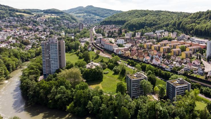 Das Quartier Kappelerhof mit dem Brisgi-Areal.