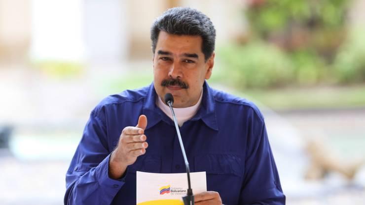 Venezuela lässt seine Erdöl-Geschäfte nunmehr über Russland abwickeln, um die US-Strafmassnahmen zu umgehen und an Geld zu kommen. (Archivbild)