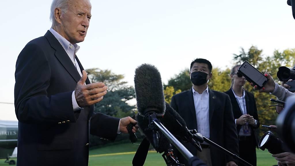 Biden bezeichnet Bedrohung durch Klimawandel als «Alarmstufe rot»