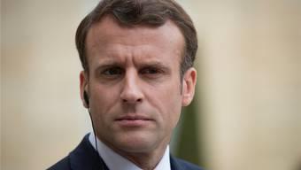 Frankreichs Präsident Emmanuel Macron. Keystone