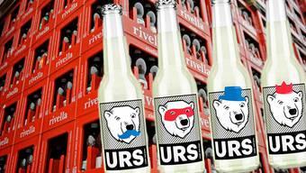 «Urs», das neue Getränk aus dem Hause Rivella, soll im März in vier Städten der Deutschschweiz lanciert werden.