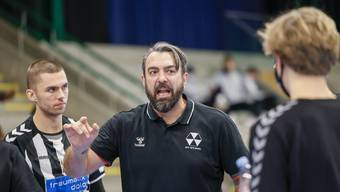 Darijo Bagaric sieht sein Team im letzten Spiel des Jahres verlieren.