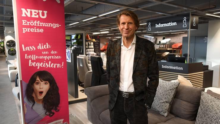 Meinrad Fleischmann war früher CEO von Möbel Pfister.