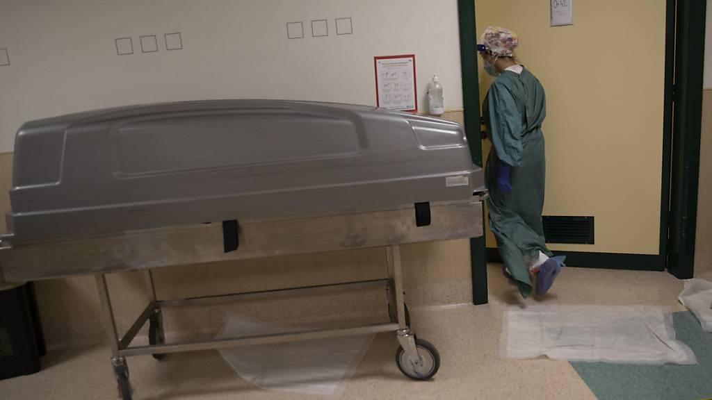 Italien registriert höchste Totenzahl seit dem Zweiten Weltkrieg