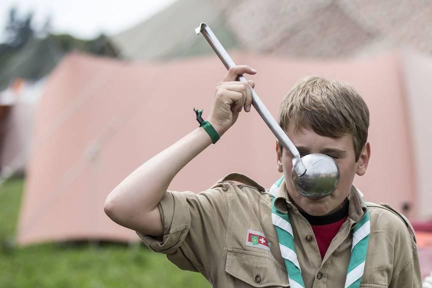 Draussen Leben - das lernen die Kinder unter anderem in den Jugendlagern an Pfingsten. (Archiv)