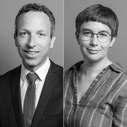 Patrik Müller und Doris Kleck