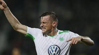 Ivica Olic war massgeblich am 1:0 der Wolfsburger beteiligt