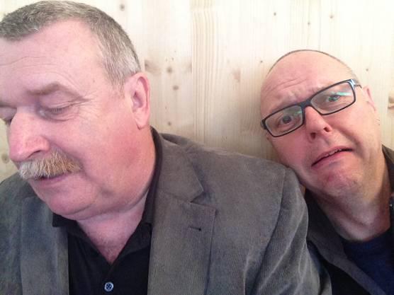 Willy Wyler hat ein Selfie mit Redaktor Wolfgang Wagmann geschossen