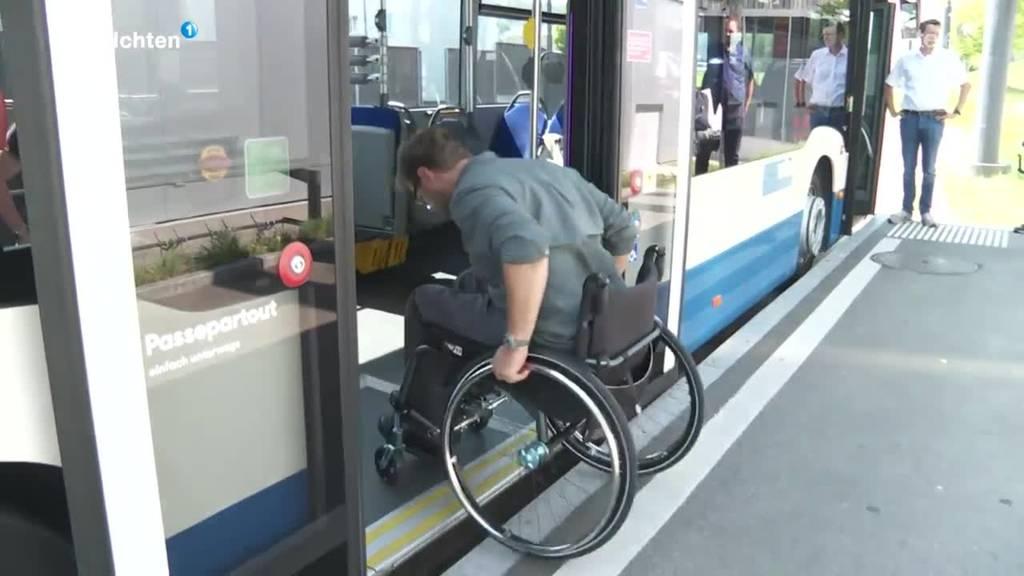 Behindertengerechte Haltestellen in der Stadt Luzern