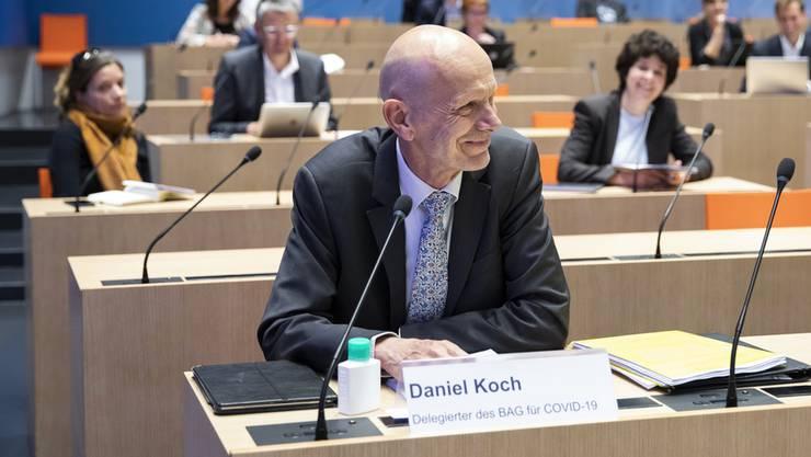Er hatte am Mittwoch seinen letzten Arbeitstag: Der Covid-19-Delegierte des Bundes, Daniel Koch, geht in Rente.