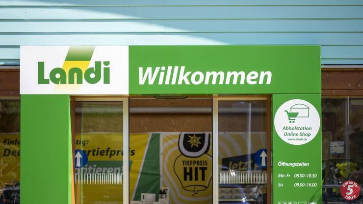 Mehr Umsatz: Der Detailhändler Landi gewinnt Marktanteile.