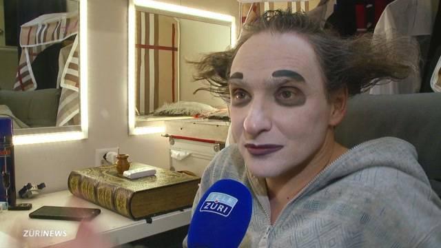Ein Abend mit Knie-Clown Housch-ma-Housch