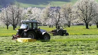 Sind die Schweizer Landwirte vom Aussterben bedroht? (Symbolbild)