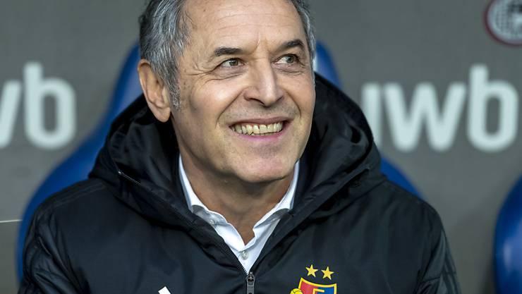 Marcel Koller blickt auf erfolgreiche Monate mit dem FC Basel zurück