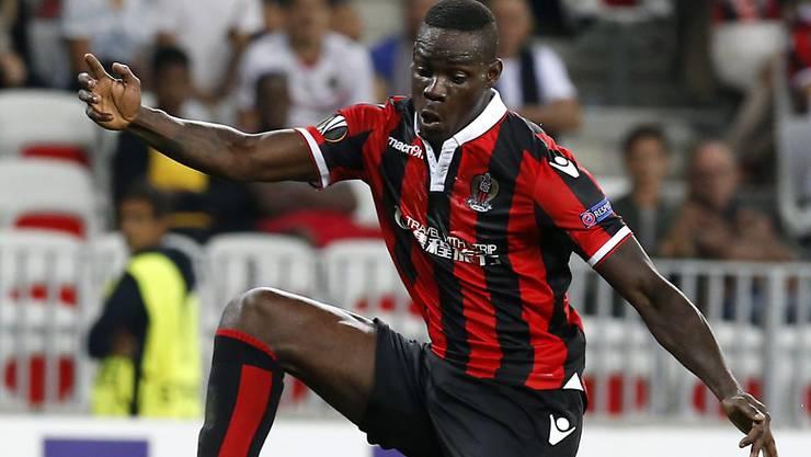 Mario Balotelli erzielte bei seinem zweiten Ligue-1-Einsatz für Nizza bereits seine Saisontore Nummer 3 und 4
