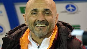 Unter ihm geht es für die AS Roma aufwärts: Trainer Luciano Spalletti