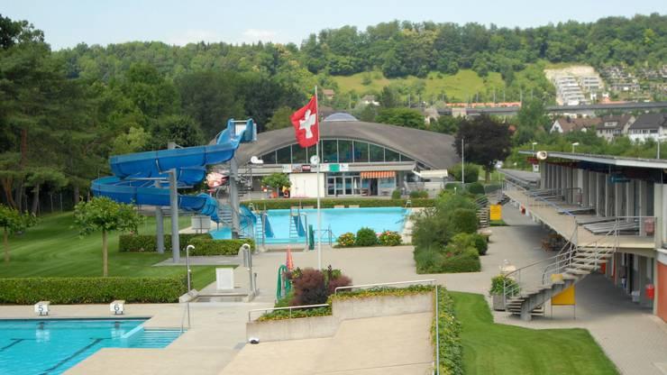 Das Schwimmbad in Brugg.
