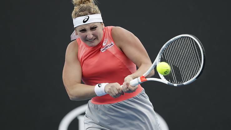Druckvoll und konzentriert: Timea Bacsinszky steht am Australian Open ohne Satzverlust in der 3. Runde