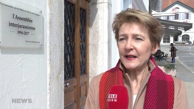 Jurakonflikt: Gedenktafel zu früh eingeweiht?