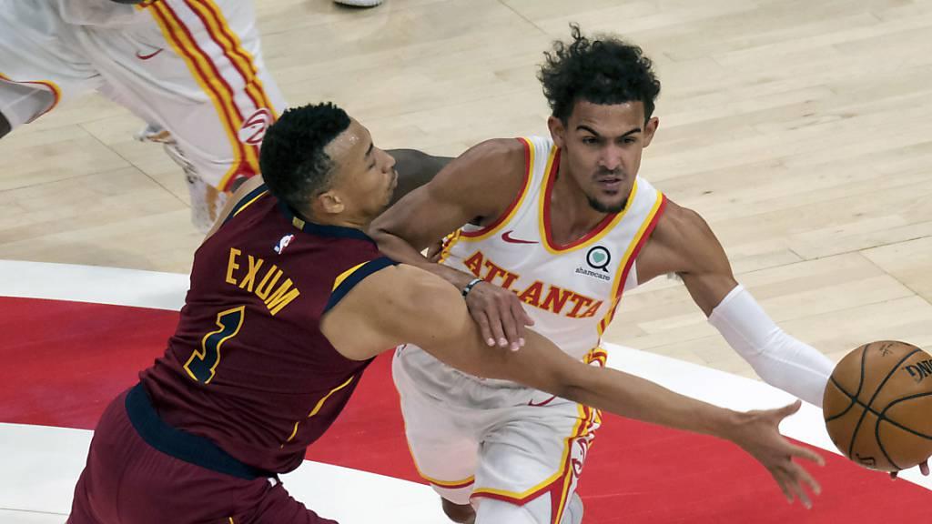 Die Atlanta Hawks unterliegen den Cleveland Cavaliers