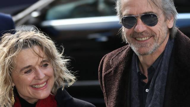Glücklich dank Distanz: Jeremy Irons und seine Frau Sinead Cusack (Archiv)