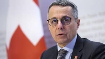 Aussenminister Ignazio Cassis ist zuversichtlich, dass die Gespräche mit der EU über ein Rahmenabkommen bald weitergehen werden.