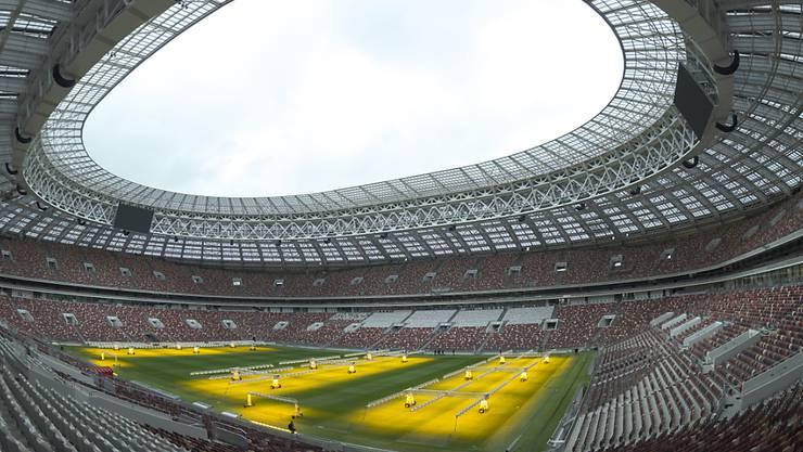 Die Luschniki-Arena in Moskau ist das Hauptstadion der kommenden WM