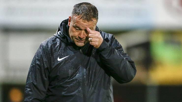 FCA-Trainer Patrick Rahmen enttäuscht.