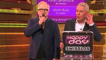 """In der Sendung """"Happy Day"""" passierte gestern eine Riesen-Panne: Wegen einer technischen Störung wurde der falsche Gewinner von einer Million Franken verkündet."""