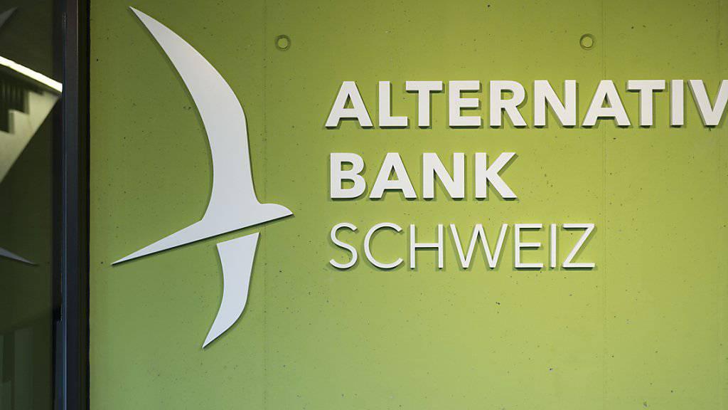 Als erste Schweizer Bank führt die Alternative Bank Schweiz Negativzinsen für Privatkunden ein. (Archiv)