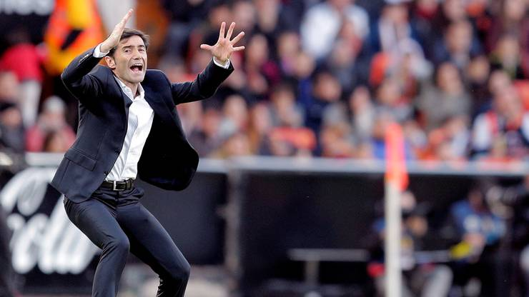 Marcelino, der Cheftrainer von Valencia, wurde nach nur drei Meisterschaftspartien entlassen.