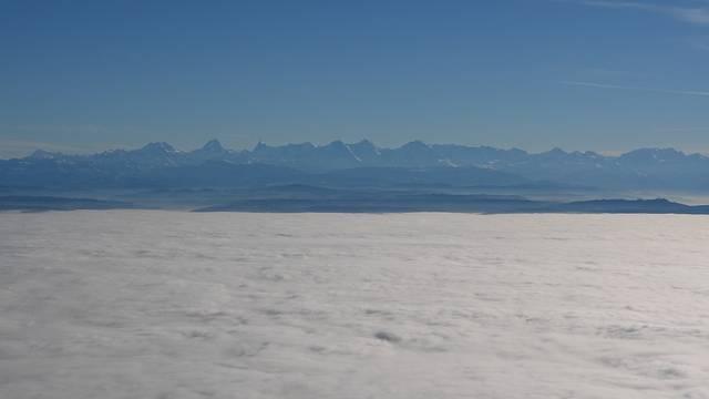 Über dem Nebelmeer auf dem Grenchenberg