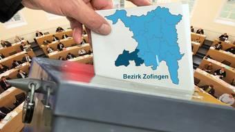 Wahlen Bezirk Zofingen