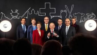 Offizielles Bundesratsfoto 2019