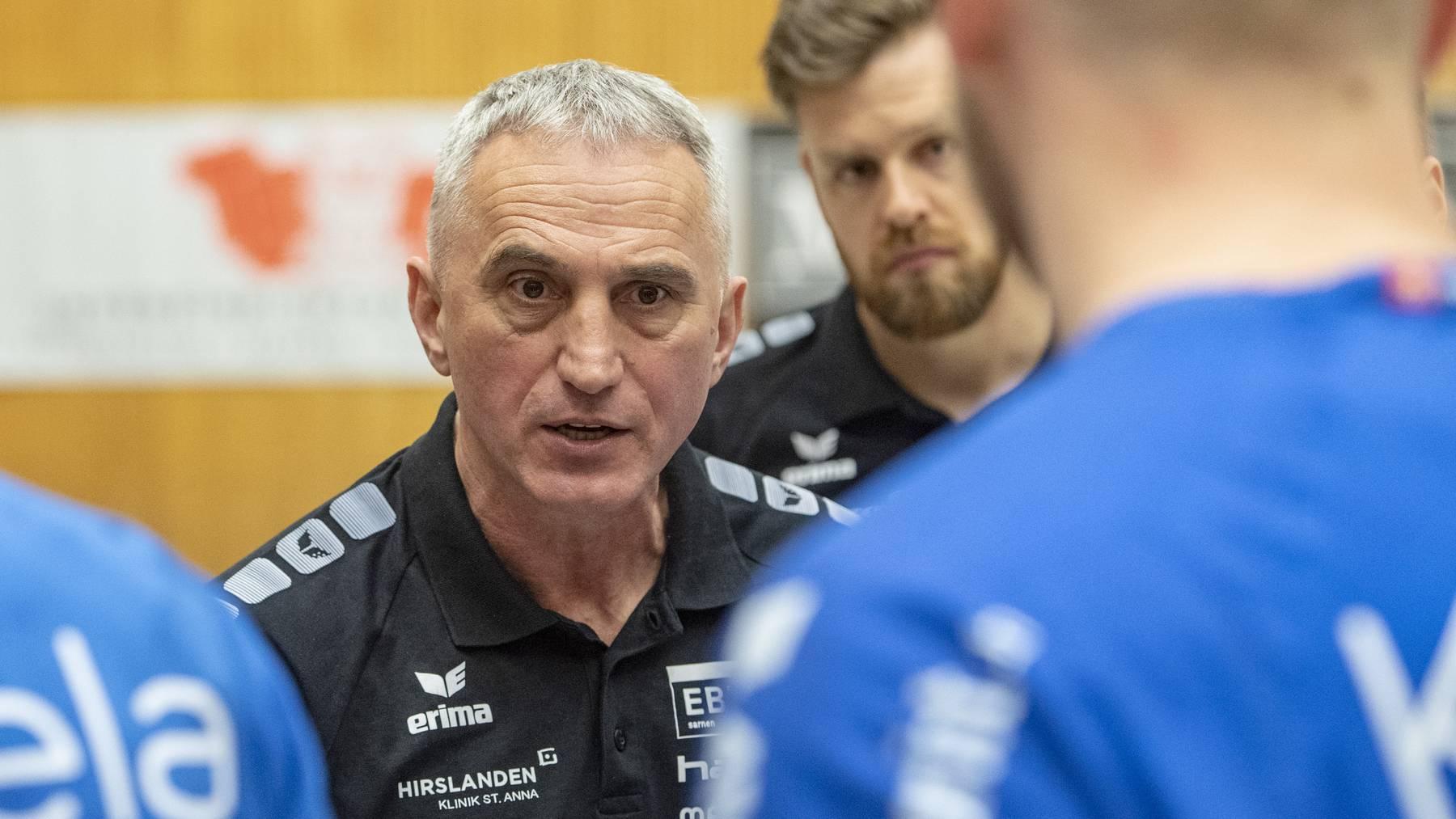 Goran Perkovac, Trainer des HC Kriens Luzern