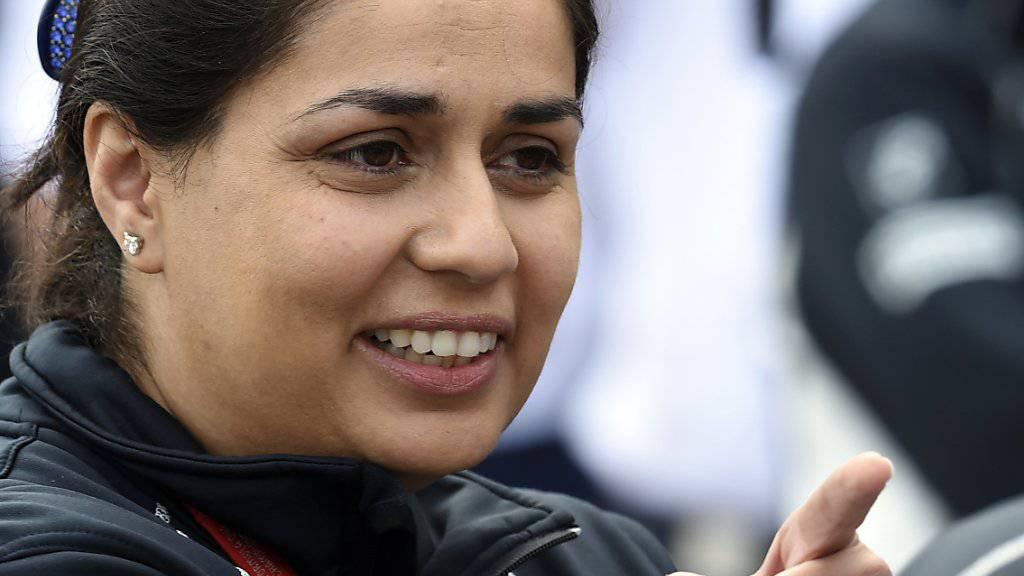 Blickt optimistisch in die Zukunft: Sauber-Teamchefin Monisha Kaltenborn