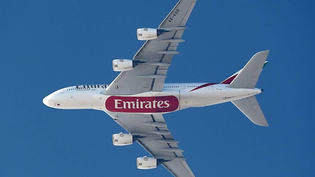 Emirates leidet wie viele andere Fluggesellschaften unter der Corona-Pandemie. (Archivbild)