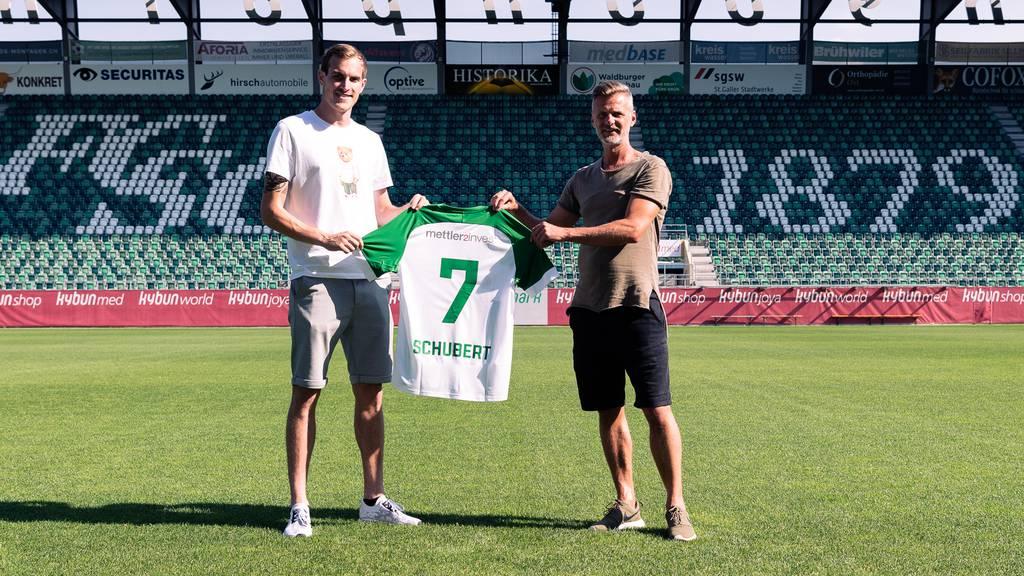 Neuer FCSG-Spieler: Österreicher Fabian Schubert stösst zu den Espen