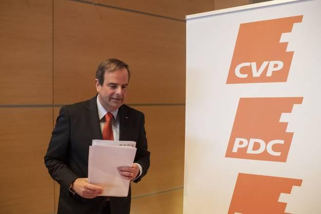 «Ein hervorragender Analyst und Programmatiker - aber jetzt hat er den Fokus verloren»: Ständerat Beat Rieder über CVP-Präsident Gerhard Pfister.