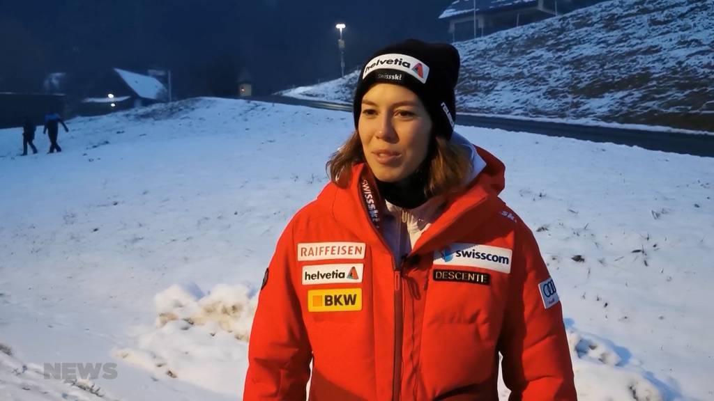 Nach 19 Jahren Durststrecke: Michelle Gisin gewinnt Slalom in Semmering