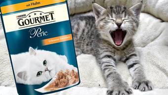 Lukrative Schleckmäuler: Mit Katzen- und Hundefutter setzt Nestlé 12,8 Milliarden Franken um.