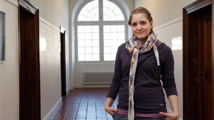 Die Bernerin Carmen Fraefel ist seit drei Wochen in der lokalen Jugendarbeit tätig.Hanspeter Bärtschi