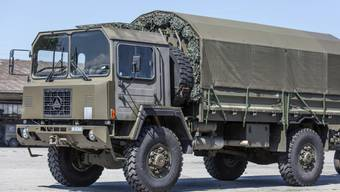 Tod im Militär-Lastwagen: Rekrut stirbt im Tessin (Symbolbild)