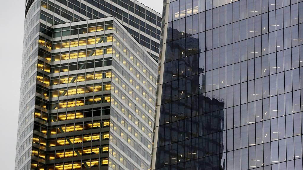 Florierende Handelsgeschäft haben den US-Grossbanken sprudelnde Gewinne beschert - im Bild der Hauptsitz von Goldman Sachs in New York. (Archivbild)