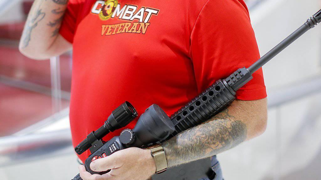 Wurde beim Schulmassaker in Florida letzte Woche verwendet: ein halbautomatisches Sturmgewehr des Typs AR-15. (Symbolbild)