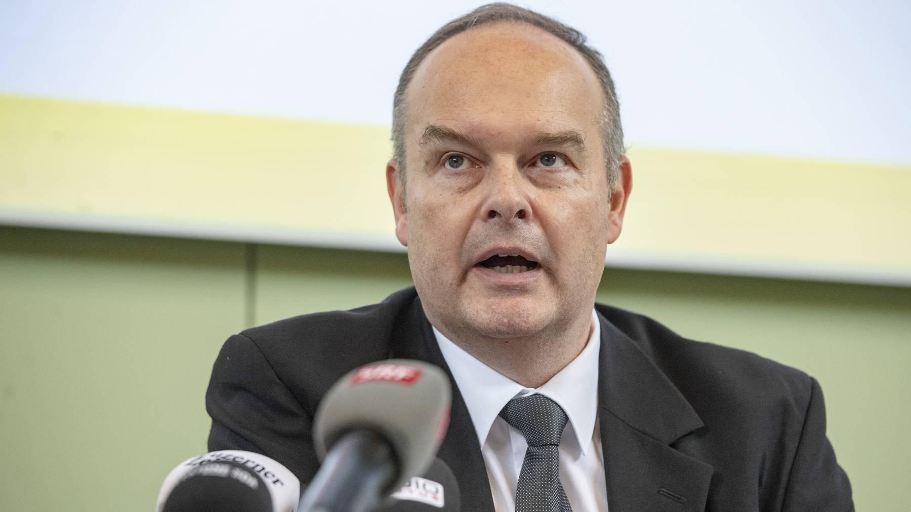 Der Luzerner Kantonsarzt Roger Harstall