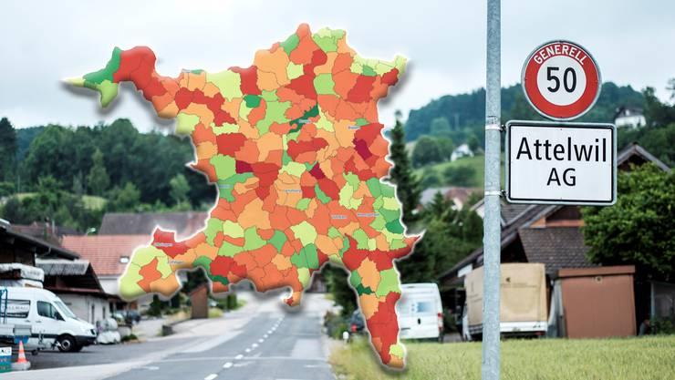 Die Verschuldung pro Kopf steigt in den Aargauer Gemeinden um rund 100 Franken auf 600 Franken.