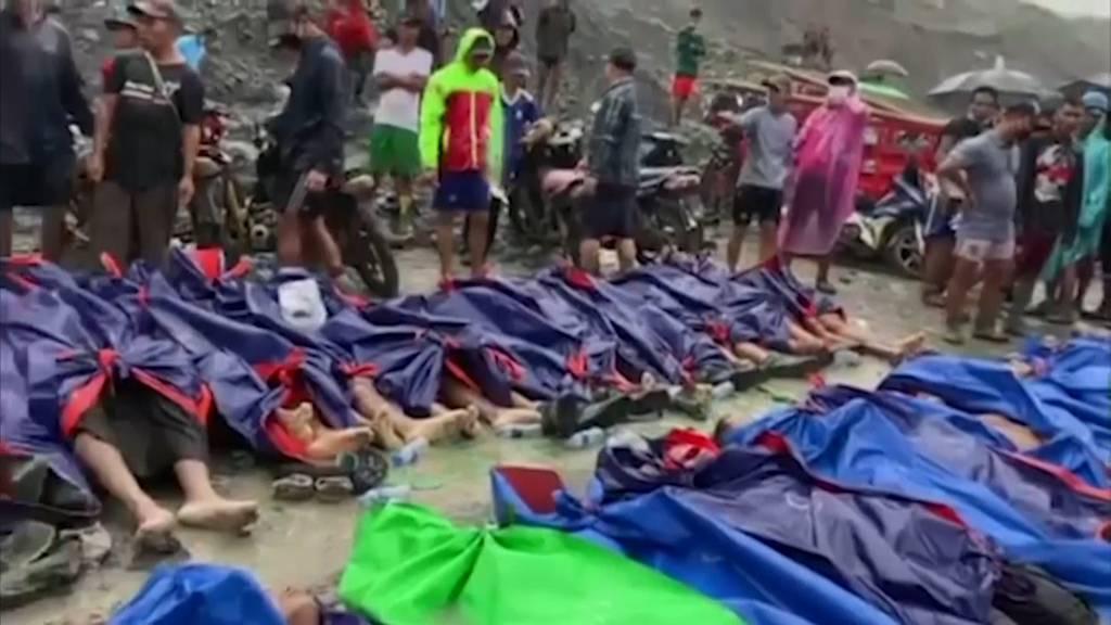Erdrutsch in Myanmar fordert mindestens 126 Tote