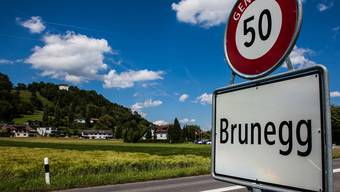 Der Veloweg wird bis zum Dorfeingang Brunegg verlängert.