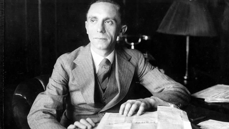 Reichspropaganda-Minister Joseph Goebbels in den 1930er-Jahren.